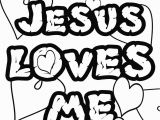 Jesus Loves Me Coloring Pages for Preschoolers Jesus Loves Me Color Page Coloring Chrsistmas