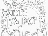 Jesus Loves Me Cross Coloring Page July 2018