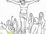 Jesus On the Cross Coloring Pages Printable 14 Best Stations Of the Cross Coloring Pages Images
