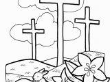 Jesus On the Cross Coloring Pages Printable Pin Auf Kigo