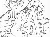 Jesus On the Cross Coloring Pages Printable Stations Of the Cross Coloring Pages the Catholic Kid