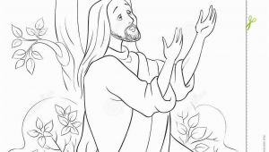 Jesus Praying at Gethsemane Coloring Page the Prayer Jesus In the Gethsemane Garden Coloring