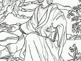 Jesus Praying In the Garden Of Gethsemane Coloring Page Jesus Praying In Gethsemane Coloring Page