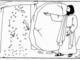 Jesus Raises Lazarus From the Dead Coloring Page Jesus Raises Lazarus From the Dead Coloring Page Coloring Pages