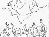 Jesus Rose From the Dead Coloring Page Jesus ascension Coloring Page Awesome Jesus Christ Coloring Pages 7
