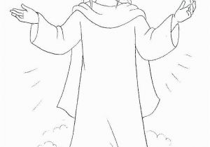 Jesus Rose From the Dead Coloring Page Jesus is Risen Coloring Page Fresh Religious Easter Coloring Pages