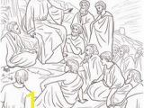 Jesus Sermon On the Mount Coloring Page 1825 Best Christian Coloring & Activities Images