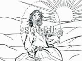 Jesus Sermon On the Mount Coloring Page Nicodemus Meets Jesus Coloring Pages