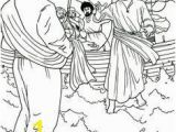 Jesus Walks On the Water Coloring Page Coloring Page Anointing the Feet Of Jesus