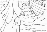 Jesus Walks On Water Coloring Page E Of Miracles Of Jesus is Walking On Water Coloring Page