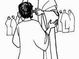 Jesus Washes the Disciples Feet Coloring Page Jesus Heilt Kranken ist Wunder Von Jesus Malvorlagen