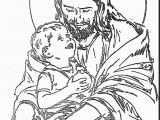 Jesus with Child Coloring Page Excellent Jesus with Child Coloring Page with Jesus Coloring Page