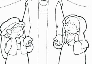 Jesus with Child Coloring Page Jesus with Children Coloring Page Luxury New Jesus and the Children