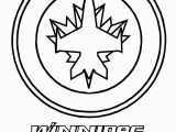 Jets Logo Coloring Page Winnipeg Jets Hockey Picture Needs A Line Through the Centre Of the