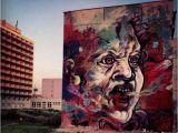 Jimi Hendrix Wall Mural Nouveau Mur De C215  Bratislava