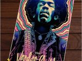 Jimi Hendrix Wall Mural Unframed Printed Poster Jimi Hendrix Voodoo Child Rock Musician Classic Canvas Modern Oil Art Painting Home Wall Decal 50 X 70 Cm