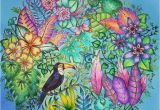 Johanna Basford Magical Jungle Colored Pages 40 Best Magical Jungle Johanna Basford Images On
