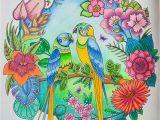 Johanna Basford Magical Jungle Colored Pages Johanna Basford Magical Jungle Faber Castell Polychromos