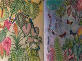 Johanna Basford Magical Jungle Colored Pages Johanna Basford Magical Jungle Prisma Color Pencils