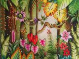 Johanna Basford Magical Jungle Colored Pages Magical Jungle Colored by Chris Cheng who Offers Video