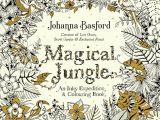 Johanna Basford Magical Jungle Colored Pages Magical Jungle Colouring Book by Johanna Basford