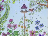 Johanna Basford Secret Garden Coloring Pages Johanna Basford S Bird House