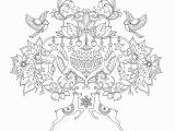 Johanna Basford Secret Garden Coloring Pages Johanna S Christmas A Festive Colouring Book Colouring