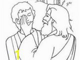John 9 1 41 Coloring Page 37 Best Man Born Blind Images