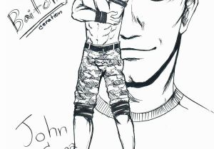 John Cena Coloring Pages Wwe Coloring Pages John Cena Coloring Pages John John Coloring