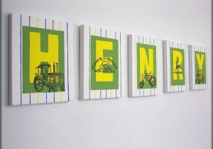 John Deere Wall Murals John Deere Tractor Letters Letters for Boys