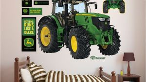 John Deere Wall Stickers Murals John Deere 6210r Tractor Realbig Wall Decal In 2019