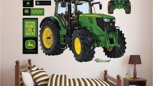 John Deere Wall Stickers Murals John Deere 6210r Tractor Realbig Wall Decal In 2019