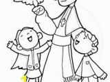 John Paul Ii Coloring Page Dibujos Para Catequesis San Lucas Evangelista