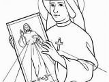 John Paul Ii Coloring Page Divine Mercy Coloring Page Coloring Pages Pinterest