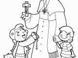 John Paul Ii Coloring Page Pope Francis Coloring Pages Jezus Pinterest