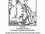 John Quincy Adams Coloring Page John Adams Wordsearch Worksheets Coloring Pages