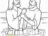 John the Baptist Baptizing Jesus Coloring Page 15 Best Primary Line Art Symbols Images On Pinterest