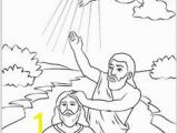 John the Baptist Baptizing Jesus Coloring Page 52 Best Jesus Baptised Images On Pinterest In 2018
