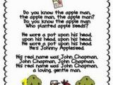 Johnny Appleseed Coloring Page Free 86 Best Johnny Appleseed Images