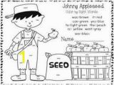 Johnny Appleseed Coloring Page Free Image Result for Johnny Appleseed Worksheets for