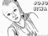 Jojo Siwa Coloring Pages for Kids Jojo Siwa Coloring Pages by Drawingiconss Free Printable