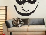 Joker Wall Mural Batman the Joker Face Wall Decal Sticker Art Vinyl Mural Home Decor