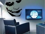 Joker Wall Mural Free Shipping Large the Joker Heath Ledger Batman Wall Art Sticker