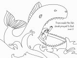 Jonah and the Whale Coloring Page Free Printable Jonah and the Whale Coloring Pages at