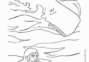 Jonah Inside the Whale Coloring Page 28 Jonah and the Whale Coloring Pages for Preschoolers