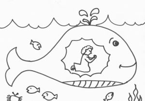 Jonah Inside the Whale Coloring Page Jonah and the Fish Coloring Page Stylish Jonah and the Whale