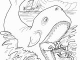 Jonas and the Whale Coloring Pages Free Printable Jonah and the Whale Coloring Pages for Kids