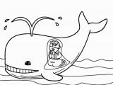 Jonas and the Whale Coloring Pages Jonah and the Whale Coloring Pages