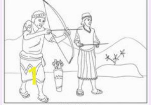 Jonathan and David Bible Coloring Pages 177 Best Church Bible David Goliath Images