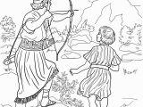 Jonathan and David Bible Coloring Pages King David Coloring Pages